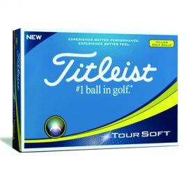 Titleist Tour Soft Geel