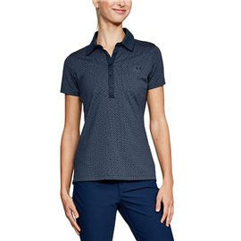 Under Armour Zinger SS Novelty Polo Blauw