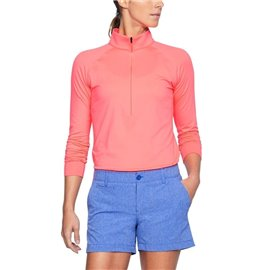 Under Armour Zinger ¼ Zip Roze